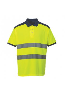 Portwest S379 Hi-Vis Contrast Polo Shirt (Medium To 3XL)