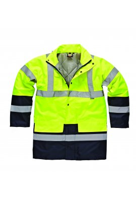 Dickies WD055 Hi-Vis Two Tone Parka Jacket (Medium To 2XL)