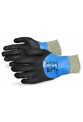 Click 2000 EN388 4542 Cut Level 5  Kevlar / Wire Micropore Nitrile Coated Glove