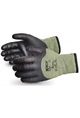 Click 2000 EN388 4542 Cut Level 5  Kevlar / Steel PVC Palm Winter Glove
