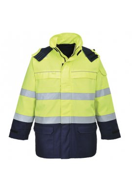 Portwest FR79 BizFlame Multi Arc Hi-Vis Jacket (Medium To 2XL)