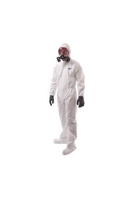 Portwest ST41 BizTex Microporous Coverall With Boot Covers Type 6/5 (Medium to 3Xlarge) Box of 50
