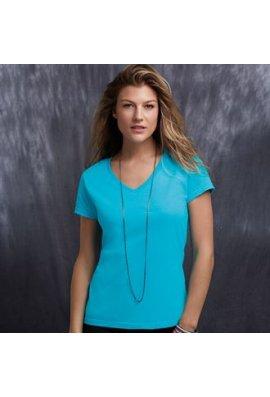 Anvil AV183 Womens Fashion Basic V-Neck T-Shirt (Small To 2XL)