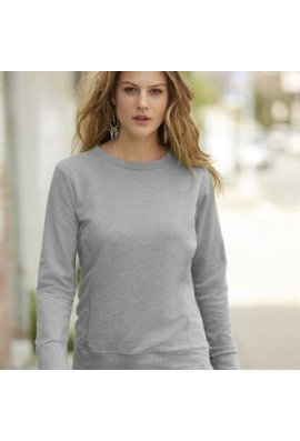 Anvil A522F Womens Mid-Scoop French Terry SweatShirt (Small to 2XL)