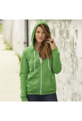 Anvil A521F Womens Full Zip Hooded Sweatshirt (Small to 2Xlarge)