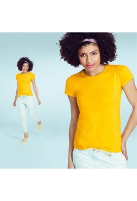 Fruit Of The Loom SS414 Lady Fit Sofspun T-shirt (XSmall To 2XL)