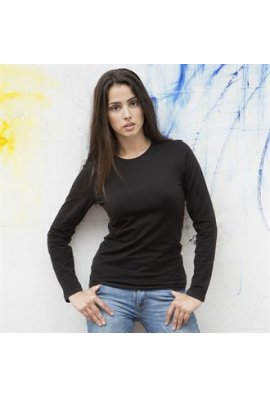 Skinnifit SK111 Womens Long SLeeved Stretch T-Shirt (Small To XL)
