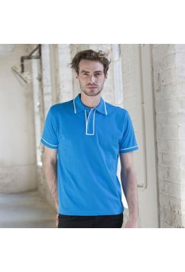 Skinnifit SFM48 Mens Contrast Polo Shirt
