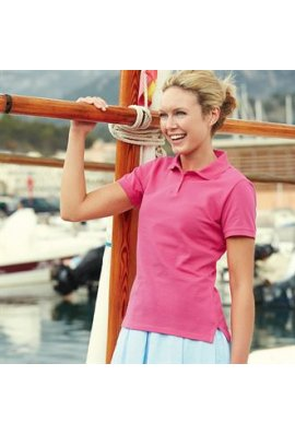 Fruit Of The Loom SS560 Lady-Fit Polo (XSmall To 2XL)