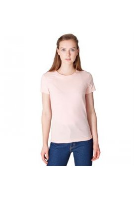 American Apparel AA003 Womens Fine Jersey Short Sleeve T-Shirt
