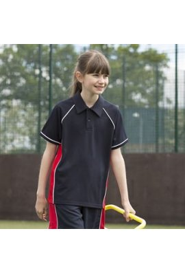 Finden And Hales LV372 Kids Piped Performance Polo
