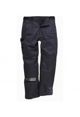 Portwest C387BL Lined Action Trousers Black