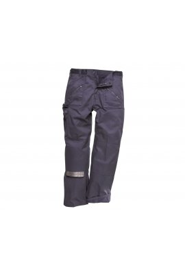 Portwest C387NAV Lined Action Trousers Navy