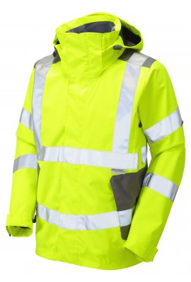 Leo Workwear J04-Y Class 3 Exmoor Jacket (Small To 6XL)