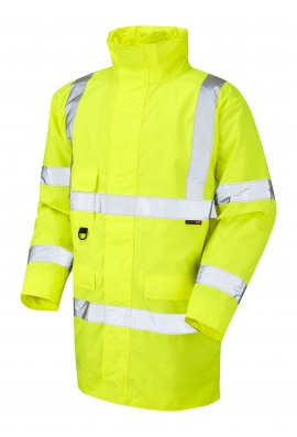 Leo Workwear A01-Y Class 3 Tawstock Anorak (Small To 6XL)