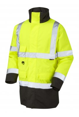 Leo Workwear A01-Y/BL Class 3 Tawstock Anorak (Small To 6XL)