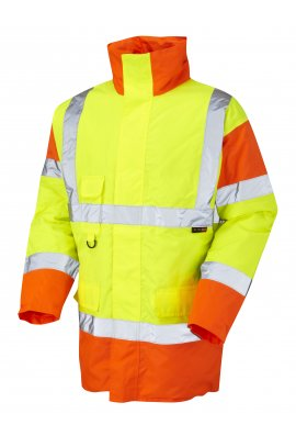 Leo Workwear A01-Y/O Class 3 Tawstock Anorak (Small To 6XL)