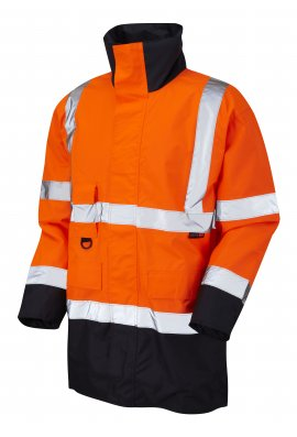 Leo Workwear A01-O/NV Class 3 Tawstock Anorak (Small To 6XL)