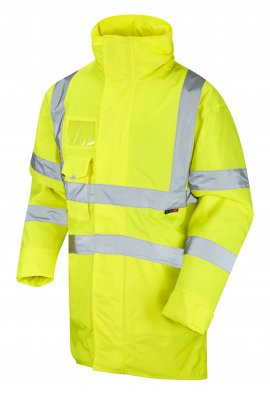Leo Workwear A03-Y Class 3 Marwood Superior Anorak (Small To 6XL)