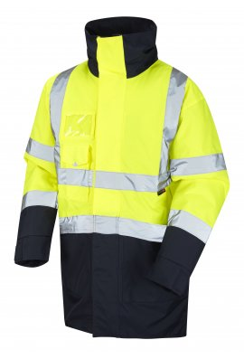 Leo Workwear A03-Y/NV Class 3 Marwood Superior Anorak (Small To 6XL)