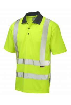 Leo Workwear P02-Y Class 2 Rockham Coolviz Polo Shirt (Small to 6XL)