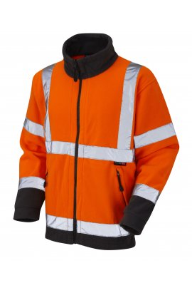 Leo Workwear F01-O Class 3 Hartland Fleece Jacket (Small To 4XL)