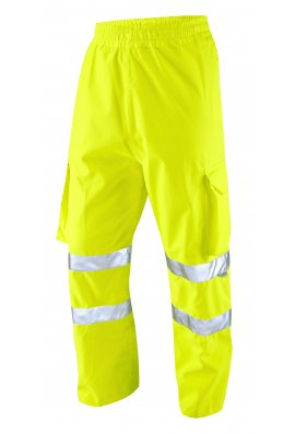 Leo Workwear L02-Y Class 1 Instow Executive Cargo Overtrousers (Small To 4XL)