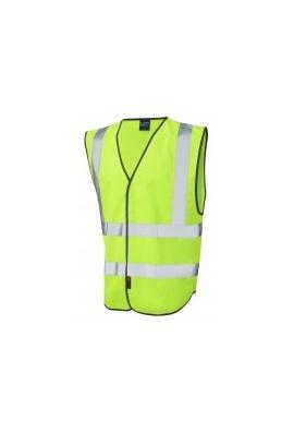 Leo Workwear W05 Pilton Hi Vis Vests Range Of Colours (Small To 6XL)