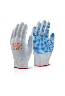 Click 2000 EN388 3141 Tronix Blue Dot Gloves (Pack Size 100)