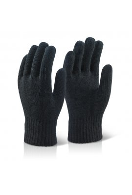 Click 2000 Acrylic Fibre Knitted  Glove