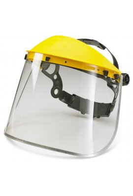 B Brand BBMEFV8 B-Brand Metal Edge Visor Only  8''  you will need to purchase  BBHG to fit to helmet
