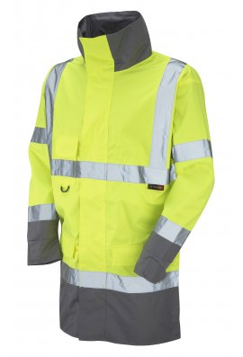Leo Workwear A06-Y Class 3 Breathable Lightweight Anorak (Small to 4XLarge)