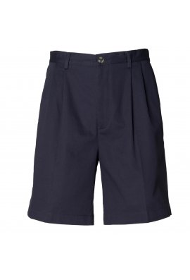 Henbury HB605 Teflon Coated Chino Shorts Navy
