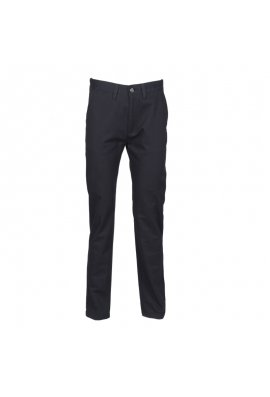 Henbury HB640 65/35 Flat Fronted Chino Trousers Navy
