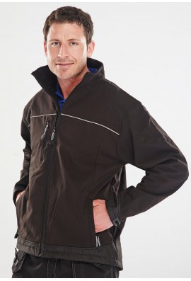 Beeswift SSJ Click Waterproof Windproof Breathable SoftShell Jacket (XSmall to 6XLarge)