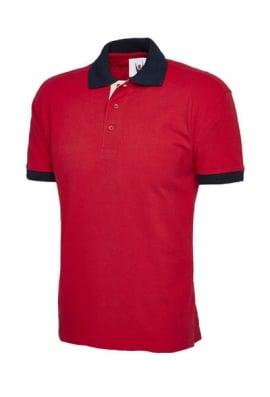 Uneek UC107 Contrast Polo Shirt