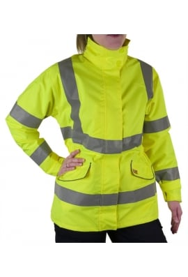 Click LBD30 Ladies Fit Breathable Executive Hi Vis Jacket