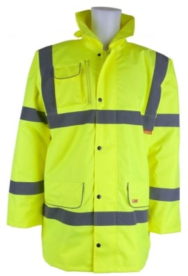 Click CTJF Fleece Lined Traffic Jacket (Small To 6XL)