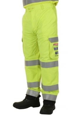 Click CARC5 ARC Compliant Trousers Yellow (30 to 50)