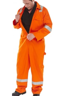 Click CFREBSOR Erskine FR/AS Bolier Suit Orange (Xsto6XL)