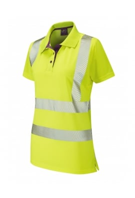 Leo Workwear PL03-Y Pippacott Class 2 Coolviz Plus Ladies Polo Shirt (XSto6XL)