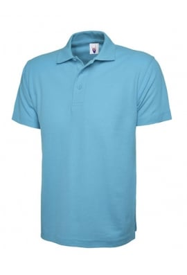 Uneek UC101 Classic Pique Polo Shirt 50/50 polycotton (XSmall To 4XL)