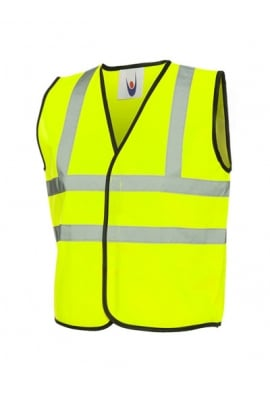 Uneek Childrens Enhanced Vis Vests