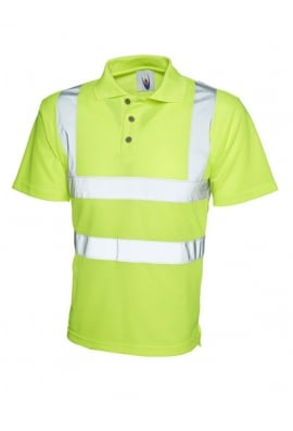 Uneek UC805 Hi Visibility Polo Shirt (Small To 4XL)