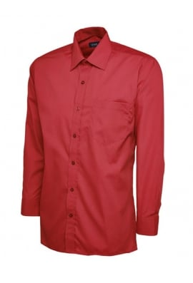 Uneek UC709 Mens Poplin Full Sleeve Shirt (Collar Size 14.5 To 19.5)