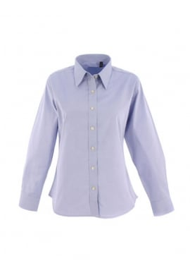 Uneek UC703 Ladies Pinpoint Full Sleeved Oxford Shirt (XS To 5XL)