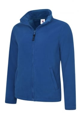 Uneek UC608 Ladies Classic Full Zip Fleece Jacket (XSmall To 4XL)