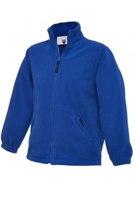Uneek UC603 Childrens Full Zip Micro Fleece Jacket Price Includes 1 x Embroidered Logo
