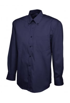 Uneek UC701 Mens Pinpoint Full Sleeved Oxford Shirt (Collar size 14.5 To 19.5)