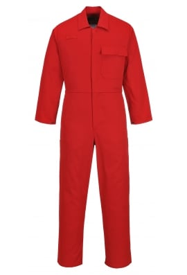 Portwest C030RD CE Safe-Welder Coverall (Red)
